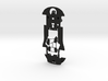 S18-ST2 Chassis for Scalextric Porsche 911 RSR STD 3d printed