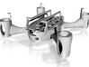 "Hubsan X4 V2 8mm Frame - ""Ring-Edition"" 3d printed"