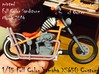 1-15 Full Color Yamaha XS650 Custom 3d printed