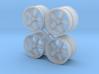 A/R 1/25 200S wheel set 15 inch 3d printed