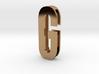 Choker Slide Letters (4cm) - Letter G 3d printed