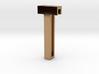 Choker Slide Letters (4cm) - Letter T 3d printed