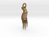 Varada Mudra Pendant/Charm 2.5cm 3d printed