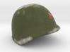 Soviet helmet WWII for lego  3d printed