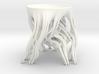 Tripod Julia bowl with smooth interior (thin) 3d printed