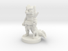 Young Dragonborn Druid 3d printed