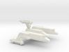 3788 Scale Lyran Serval War Cruiser Scout CVN 3d printed