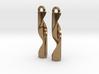 Double Helix Pendants 3d printed