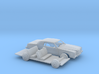 1/87 1974 Ford LTD Coupe Kit 3d printed