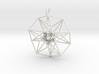 5d hypercube toroidal projection -37mm  3d printed
