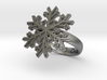 Snowflake Ring 1 d=16mm h35d16 3d printed