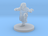 Dwarf Monk with Glorious Hair 3d printed