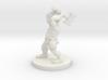Dwarf Barbarian with Warhammer 3d printed