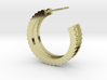 Ingranaggi Hoop Earrings  3d printed