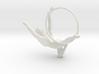 Lyra Earring 3d printed