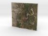 Santa Fe Mountains, New Mexico, USA, 1:250000 3d printed