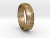 Norse/ Icelandic Rune Poem Ring 3d printed