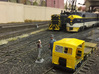 S Scale - Fairmont S2 Speeder Car 3d printed S scale version on Bigfourroad's layout