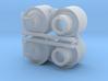 "800R38"" COMBINE FRONT DUAL RIMS 3d printed"