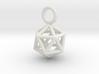 Pendant_Icosahedron-Small 3d printed