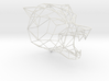 Wire Frame Wolf decor-L 3d printed Large size render