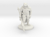 Werebear Knight 3d printed