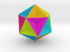 0415 Great Dodecahedron (F&full Color, 8cm) #001 3d printed