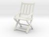 1:48 Vertical Slatted Civil War Folding Chair 3d printed