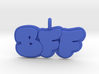 10- BFF Bubble Letters  3d printed