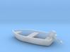 Boat - Motor HO 87:1 Scale 3d printed