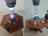 McGann Console  - With Support Plinth 3d printed Completed Console with final paint application