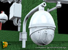 Surveillance cameras (1/24) double pack 3d printed surveillance cameras - 1/24th scale - double pack - dome camera 1