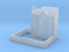 (1:450) Low Relief Row House 3d printed