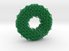 3D square chainmaille donut 3d printed