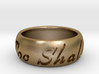This Too Shall Pass ring size 11 3d printed