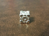 Portal Companion Cube Bead (for thread or wire) 3d printed