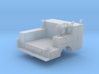 Pickup Truck Service Bed With Crane 1-64 Scale 3d printed