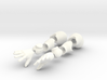 BJD Sprite Mermaid body: the arms (part 3 of 3) 3d printed
