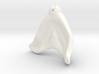 BJD Sprite Mermaid body: Tailfin (part 2 of 3) 3d printed