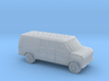 1/120 1X 1975-91 Ford E-Series Delivery Van 3d printed
