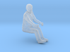 Equipment Operator Seated HO Scale 3d printed