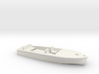 Classic RUNABOUT O Scale Boat 3d printed