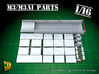 M3/M3A1 halftrack parts (1/16) 3d printed M3 / M3A1 halftrack conversion for Trumpeter (1/16)