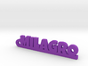 MILAGRO_keychain_Lucky 3d printed