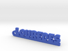 LOUREDES_keychain_Lucky 3d printed