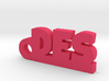 DES_keychain_Lucky 3d printed