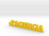 PACIENCIA_keychain_Lucky 3d printed