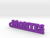 MONTES_keychain_Lucky 3d printed