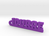 IDURRE_keychain_Lucky 3d printed