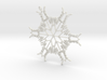 Abigail snowflake ornament  3d printed